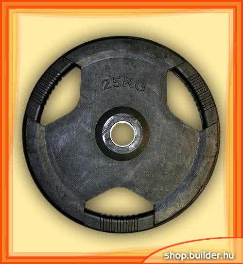 Alte echipamente sportive Rubber plate with grip 50mm 25 kg