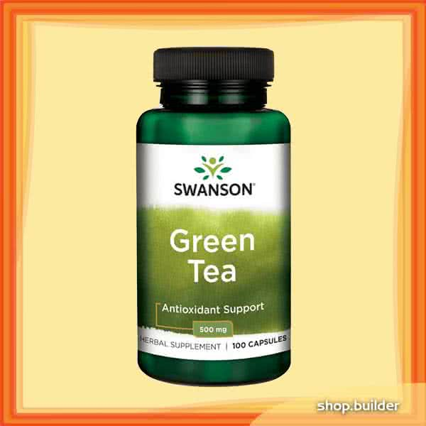 Swanson Green Tea 100 caps.