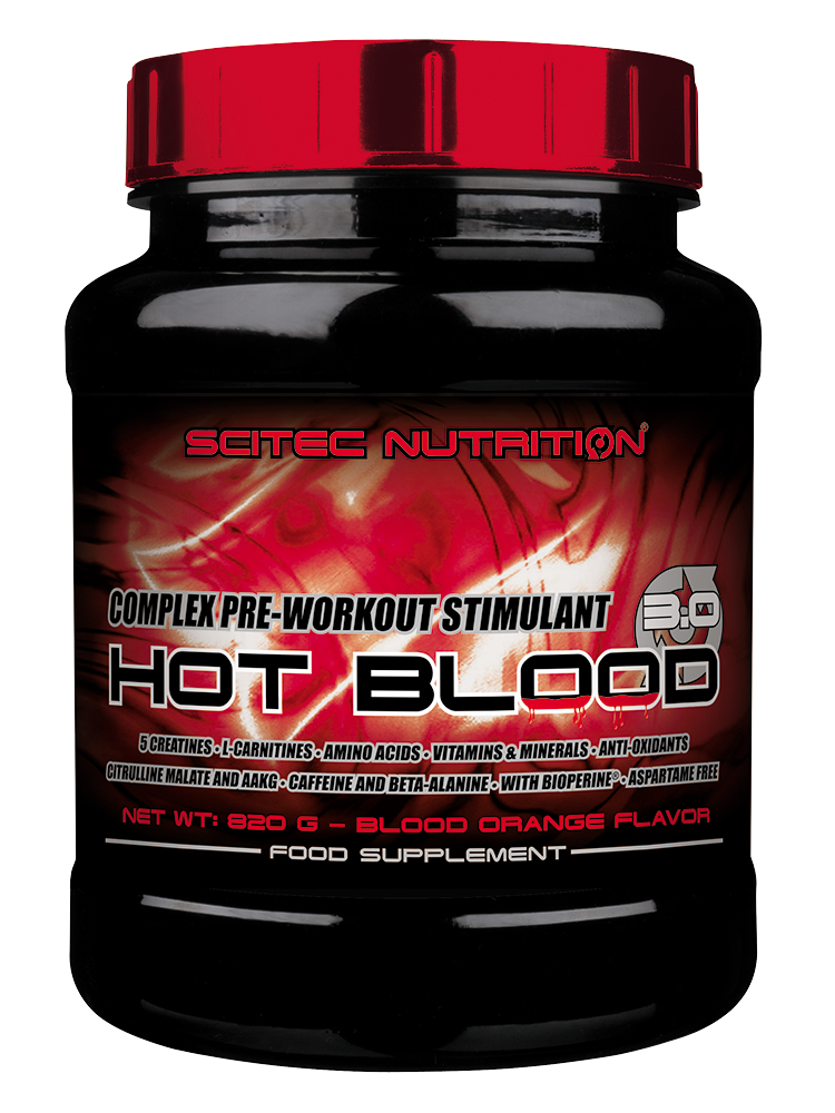 Scitec Nutrition Hot Blood 3.0 820 gr.