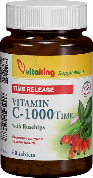 VitaKing Vitamin C-1000 Time 60 tab.