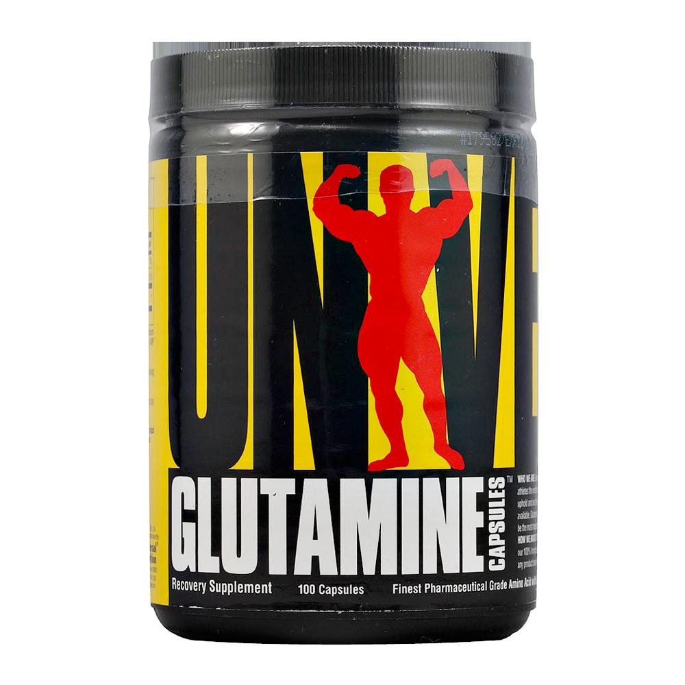 Universal Glutamine Capsules 100 caps.