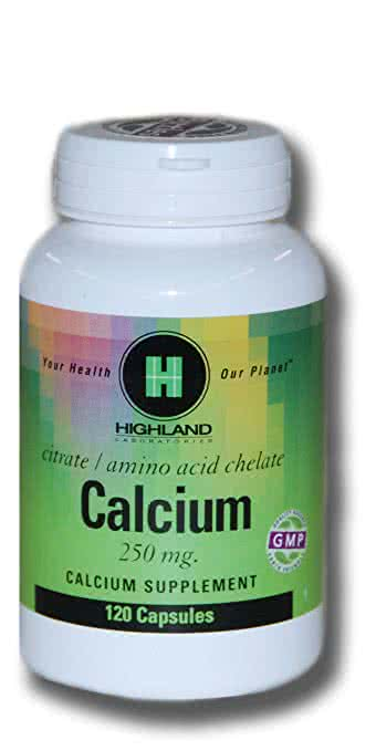 Highland Calcium 120 caps.