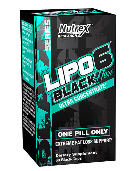 NutreX Lipo-6 Hers Ultra Concentrate 60 caps.