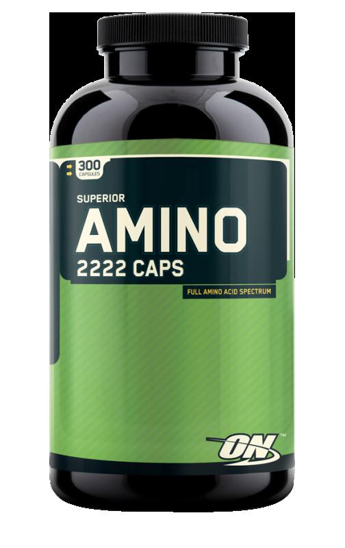 Optimum Nutrition Amino 2222 Caps 300 caps.