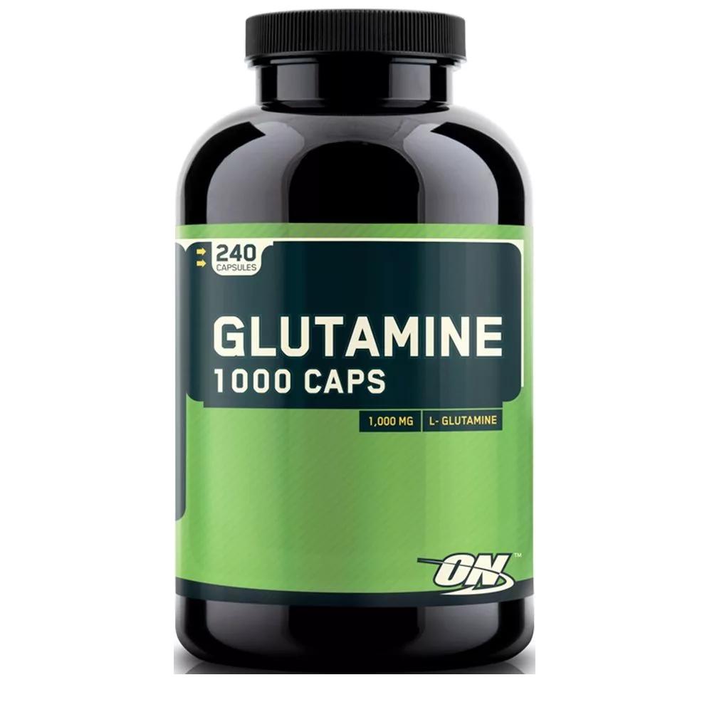 Optimum Nutrition Glutamine 1000 Caps 240 caps.
