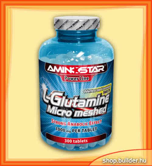 AminoStar L-Glutamine Tabs 300 tab.
