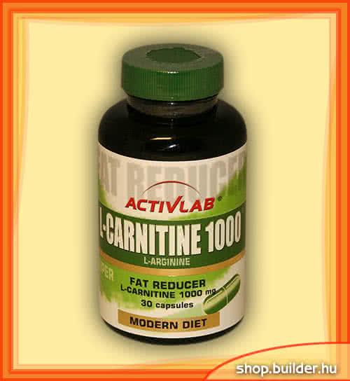 ActivLab L-Carnitine 1000 30 caps.