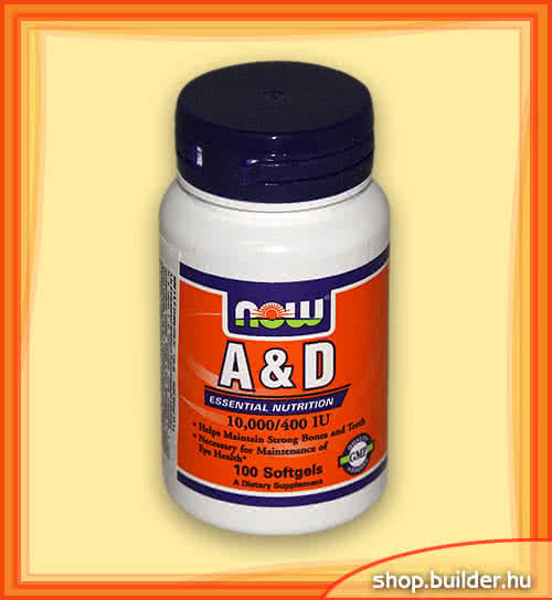 Now Foods Vitamin A & D 100 g.k.