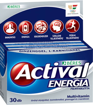 Beres Actival Energia 30 tab.