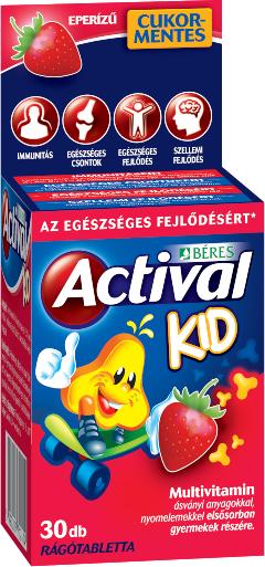 Beres Actival Kid 30 tabl. de mest.