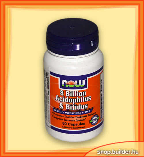 Now Foods Acidophilus & Bifidus 60 caps.