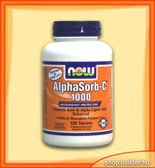 Now Foods AlphaSorb-C ™ 1000 60 tab.