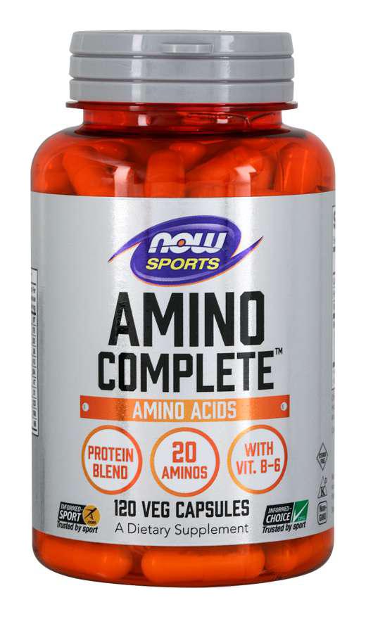 Now Foods Amino Complete 120 caps.