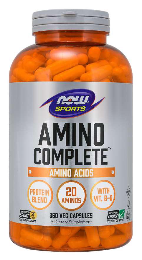 Now Foods Amino Complete 360 caps.
