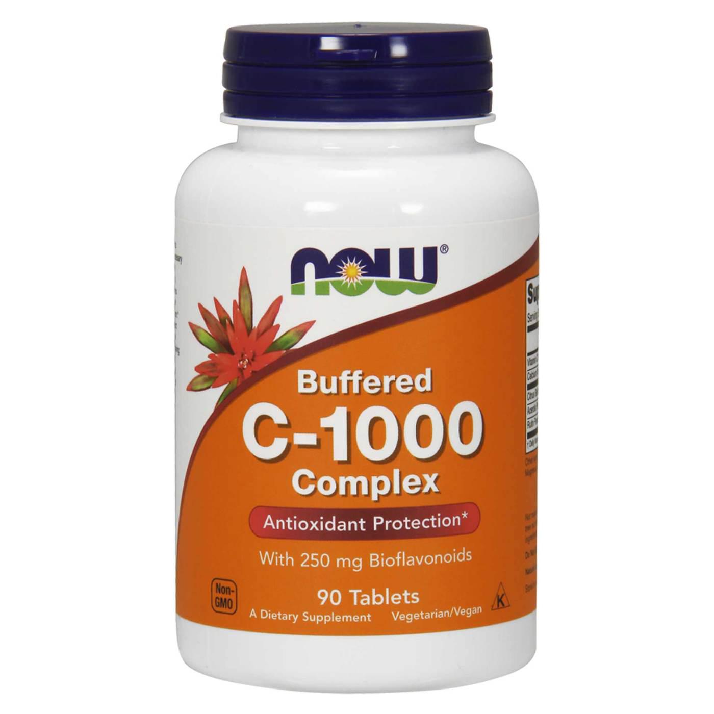 Now Foods Vitamin C-1000 90 tab.
