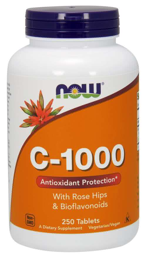 Now Foods Vitamin C-1000 250 caps.