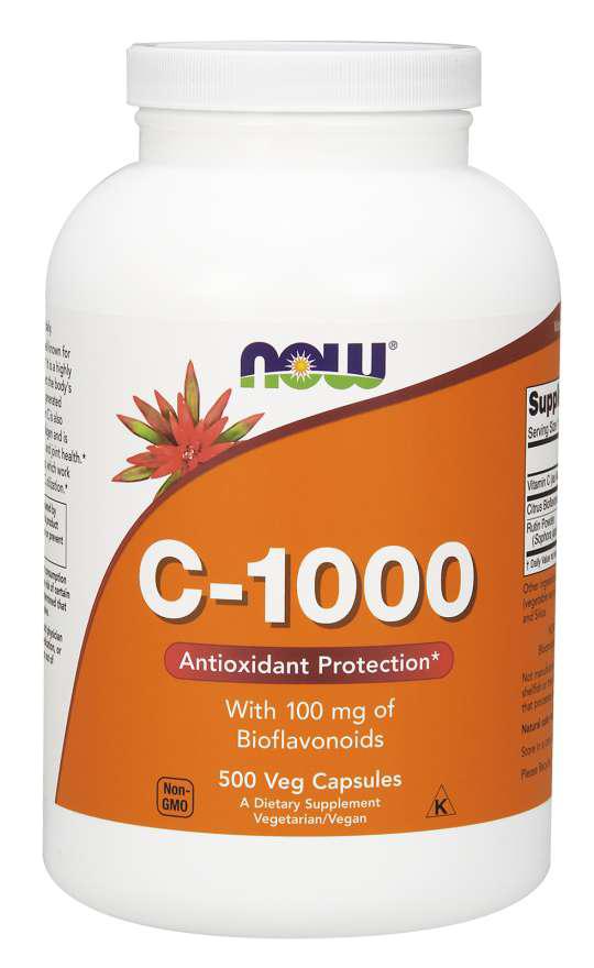 Now Foods Vitamin C-1000 500 caps.