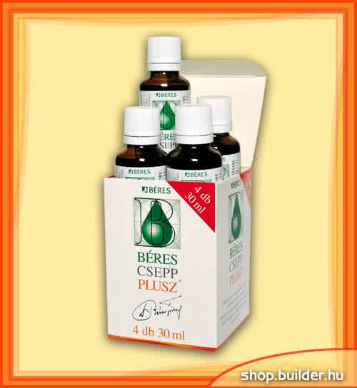 Beres Béres Vitamin Drops Plus 4x30 ml
