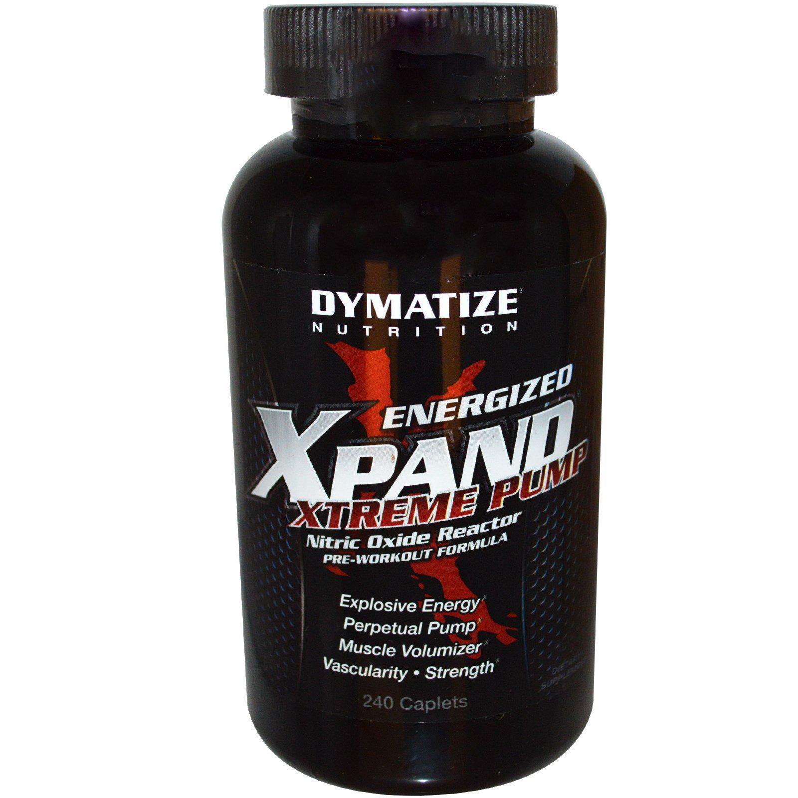 Dymatize Xpand Pills (caffeine free) 240 tab.