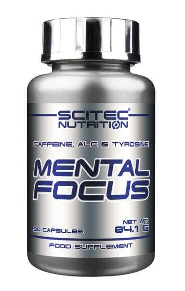 Scitec Nutrition Mental Focus 90 caps.