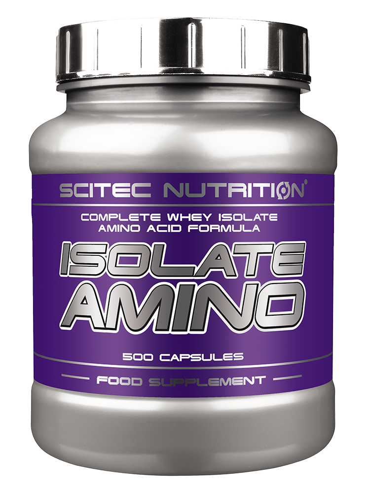 Scitec Nutrition Isolate Amino 500 caps.