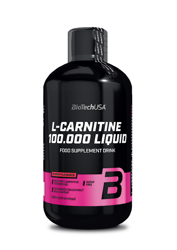BioTech USA L-Carnitine 100.000 Liquid 0,5 lit.
