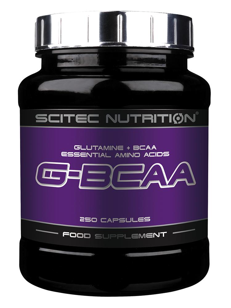 Scitec Nutrition G-BCAA 250 caps.