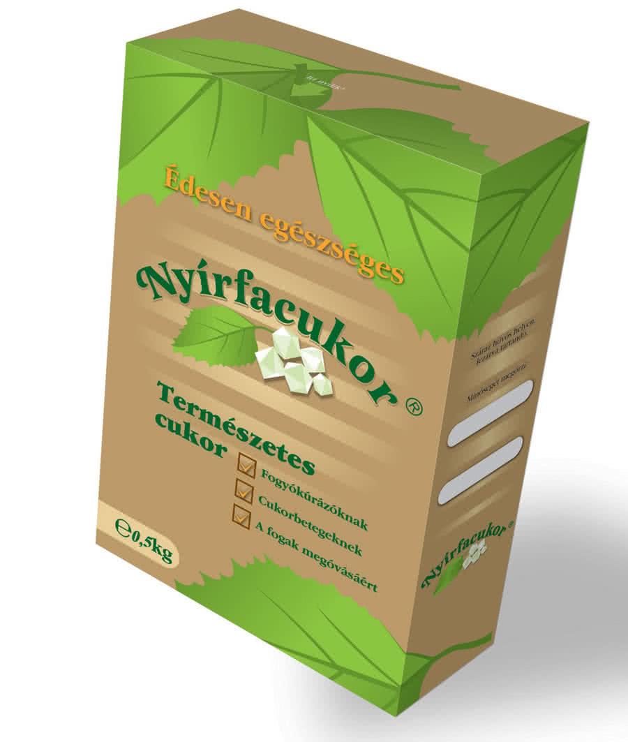 Nyírfacukor Birch sugar 0,5 kg 0,5 kg