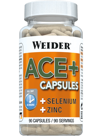 Weider Nutrition ACE+ Capsules 90 caps.