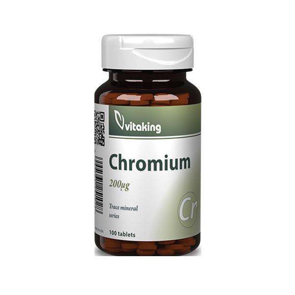 VitaKing Chromium 100 tab.
