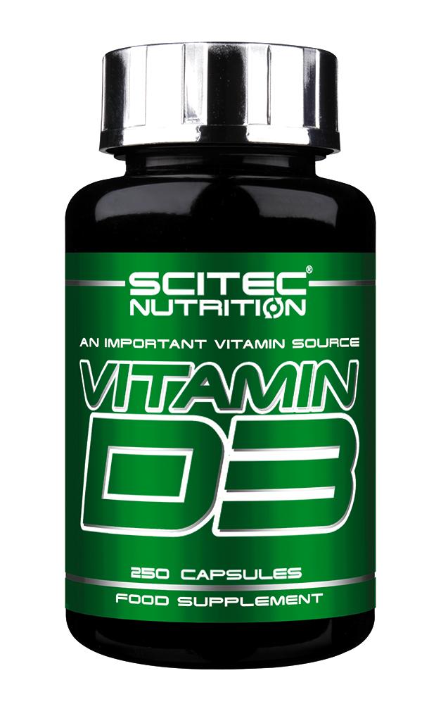 Scitec Nutrition Vitamin D3 250 caps.