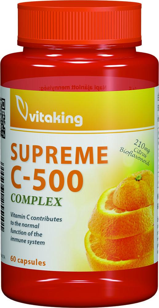 VitaKing Supreme C-500 Complex 60 caps.