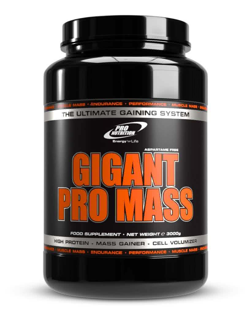Pro Nutrition Gigant Pro Mass 3 kg