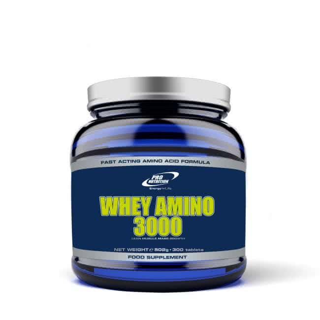 Pro Nutrition Whey Amino 3000 300 tab.