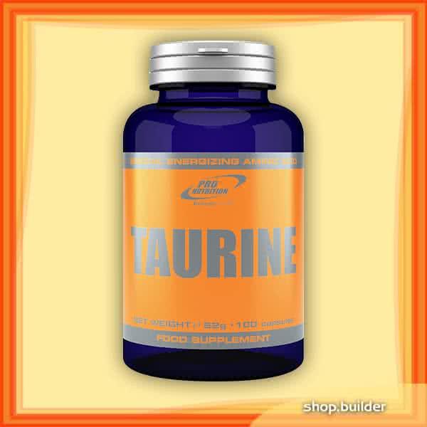 Pro Nutrition Taurine 100 caps.