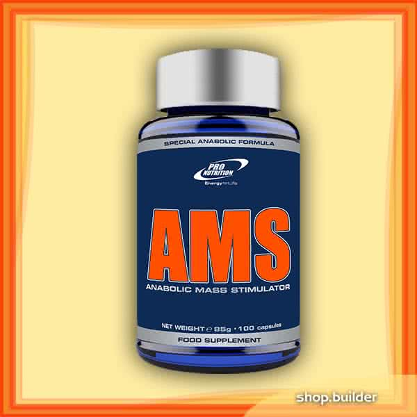 Pro Nutrition AMS - Anabolic Muscle Stimulator 100 caps.