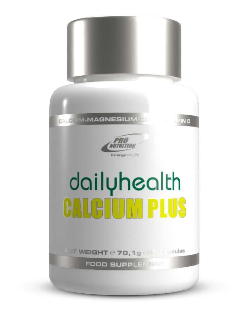 Pro Nutrition Dailyhealth Calcium Plus 60 caps.