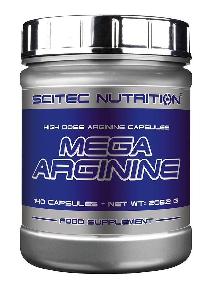 Scitec Nutrition Mega Arginine 140 caps.