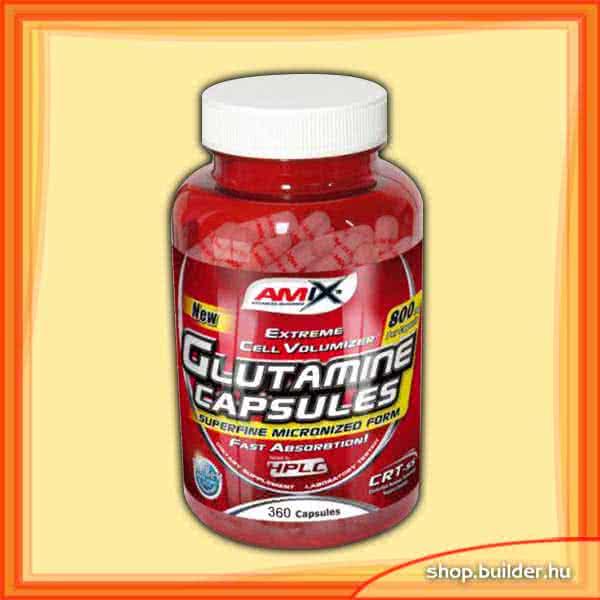Amix L-Glutamine Caps 360 caps.