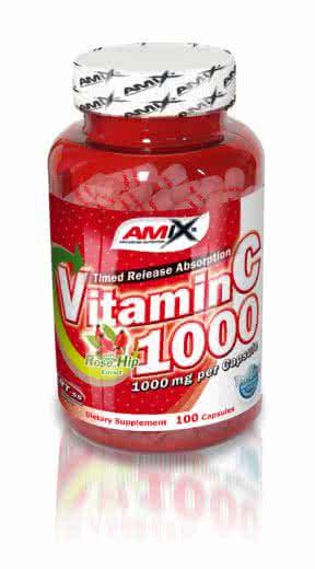 Amix Vitamin C-1000 100 caps.