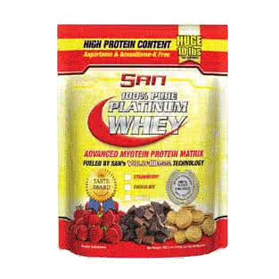 San 100% Pure Platinum Whey 4,5 kg