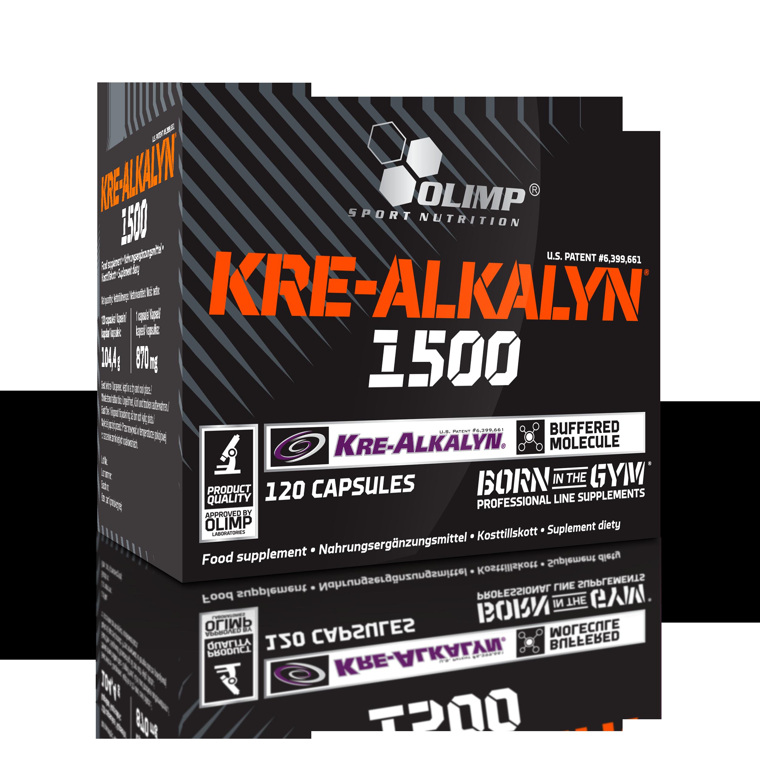 Olimp Sport Nutrition Kre-Alkalyn® 1500 120 caps.