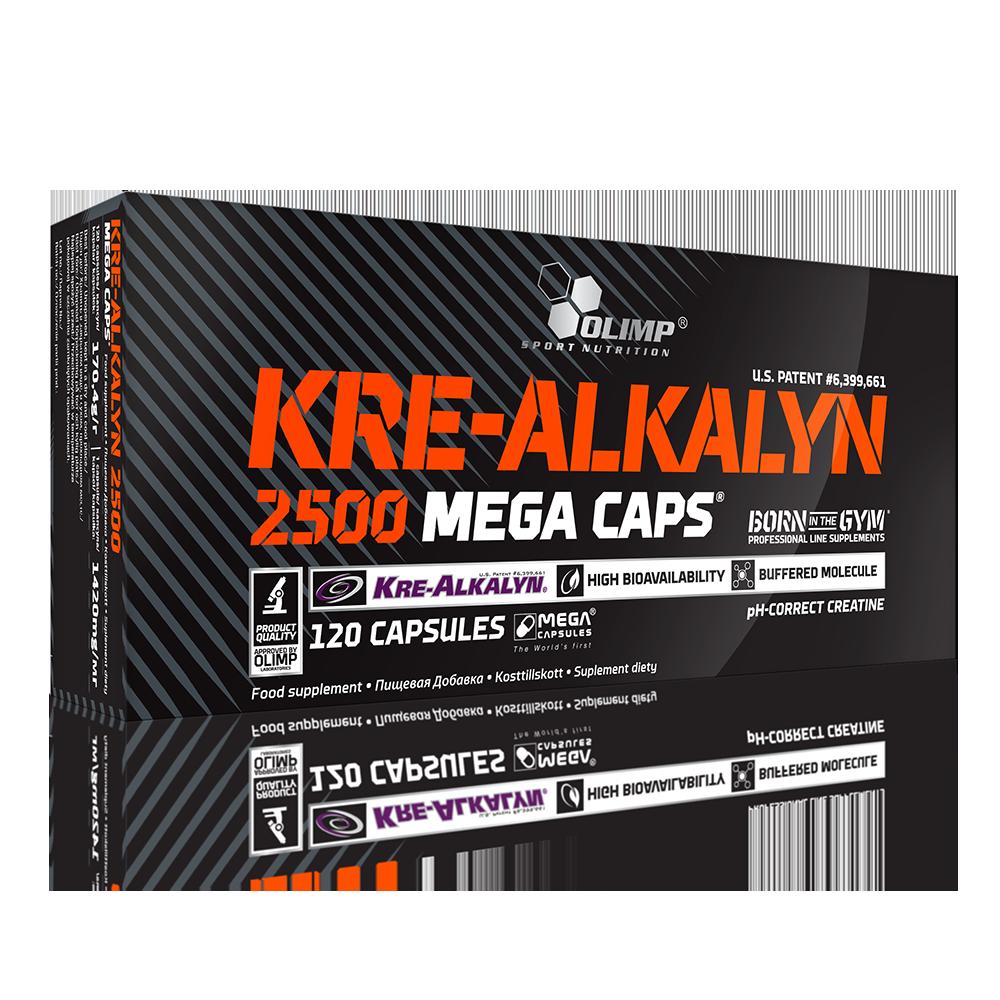 Olimp Sport Nutrition Kre-Alkalyn® 2500 Mega Caps 120 caps.