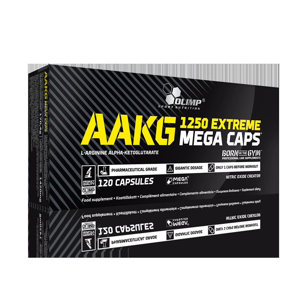 Olimp Sport Nutrition AAKG Extreme Mega Caps 120 caps.