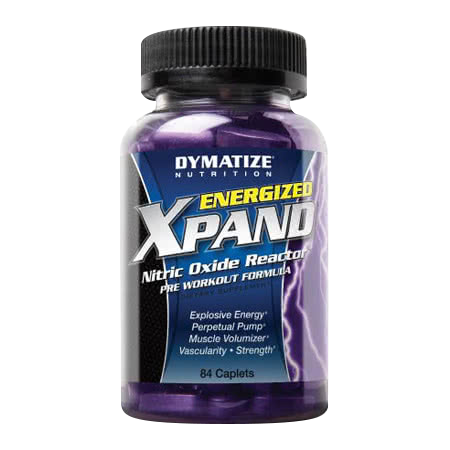Dymatize Energized Xpand Pills 84 caps.