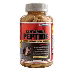 German American Glutamine Peptide 240 caps.