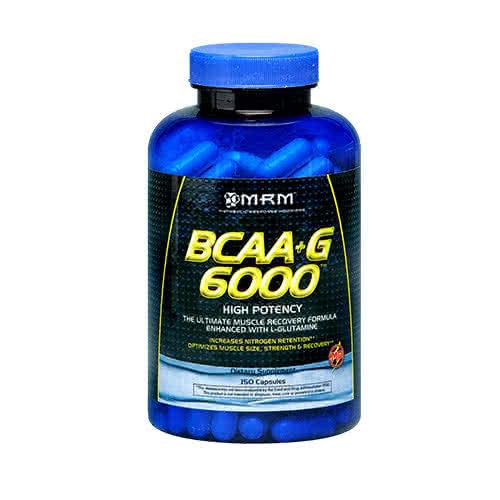 MRM BCAA+G 6000 150 caps.