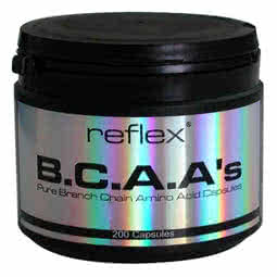 Reflex Nutrition BCAAs 200 caps.