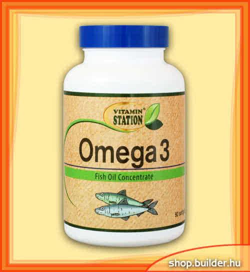 Vitamin Station Omega-3 90 g.k.