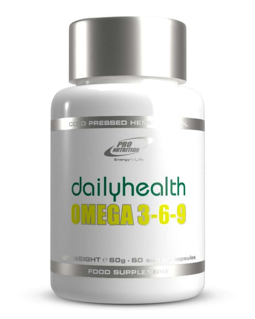 Pro Nutrition Dailyhealth Omega 3-6-9 60 caps.